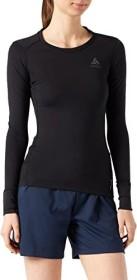 Odlo Natural 100% Merino Warm Shirt langarm schwarz (Damen) (110811-15001)