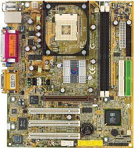 Gigabyte GA-8SIML, SiS650 (DDR)