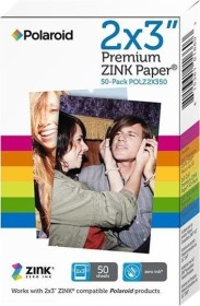 "Polaroid Premium ZINK paper 2x3"", 50 sheets"