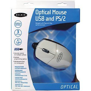 Belkin Optical Mouse white, PS/2 & USB (F8E814EAOPT/F8E814QEAOPT)