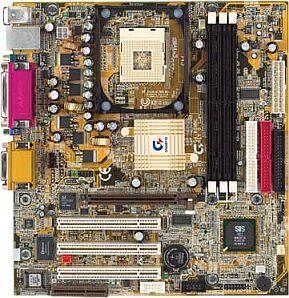 Gigabyte GA-8SMML, SiS650 (SDR)