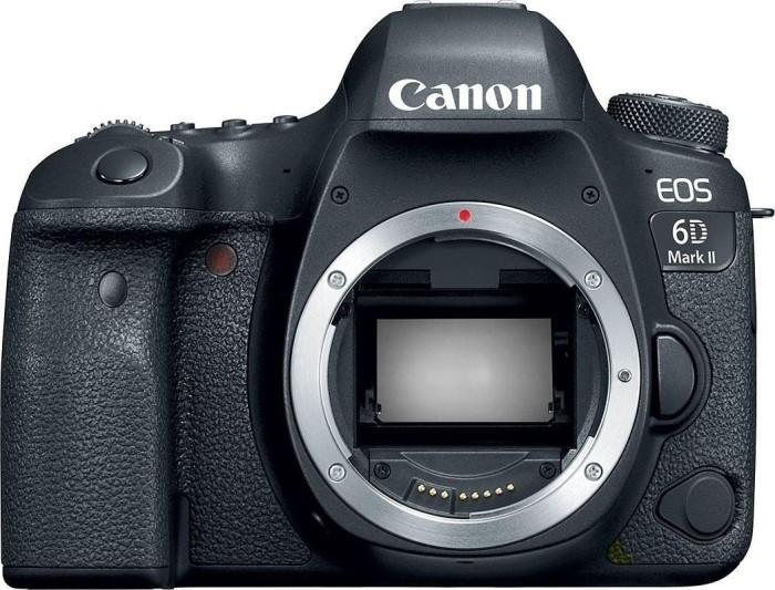 Canon EOS 6D Mark II schwarz Gehäuse (1897C003)