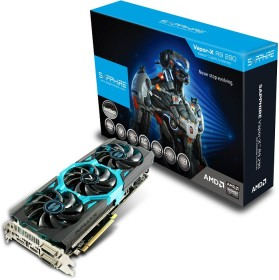 Sapphire Vapor-X Radeon R9 290 Tri-X OC, 4GB GDDR5, 2x DVI, HDMI, DP, full retail (11227-04-40G)