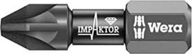 Wera 855/1 IMP DC Impaktor Pozidriv bit PZ3x25mm, 1-pack (05057622001)