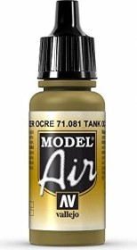 Vallejo Model Air 081 tank dark yellow 1943 (71.081)