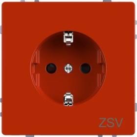 Merten System Design SCHUKO-Steckdose, orange (MEG2300-6002)