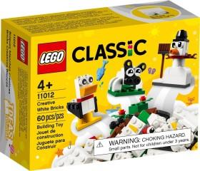 LEGO Classic - Kreativ-Bauset mit weißen Steinen (11012)