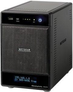 Netgear ReadyNAS NVX RNDX4000, 2x Gb LAN