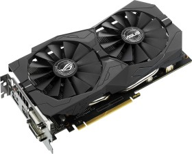 ASUS ROG Strix GeForce GTX 1050 Ti OC, ROG-STRIX-GTX1050TI-O4G-GAMING, 4GB GDDR5, 2x DVI, HDMI, DP (90YV0A30-M0NA00)