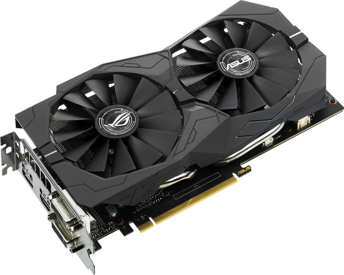 ASUS ROG Strix GeForce GTX 1050 Ti OC, STRIX-GTX1050TI-O4G-GAMING, 4GB GDDR5, 2x DVI, HDMI, DisplayPort (90YV0A30-M0NA00)