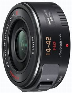 Panasonic Lumix G X vario PZ 14-42mm 3.5-5.6 ASPH OIS black (H-PS14042E-K)