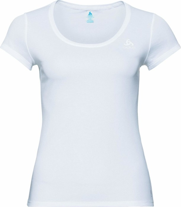 0a2d5072ba Odlo Active F-Dry Light Shirt kurzarm weiß (Damen) (141021-10000) ab ...