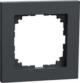 Merten System M M-Pure frame 1 x thermoplast classymatt, anthracite (MEG4010-3614)