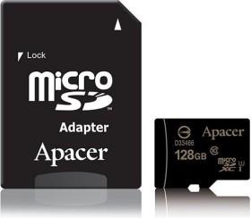 Apacer microSDXC 128GB Kit, UHS-I U1, Class 10 (AP128GMCSX10U1-R)
