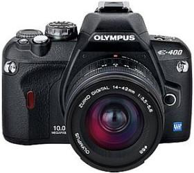 Olympus E-400 schwarz mit Objektiv 14-42mm 3.5-5.6 (N2524292)
