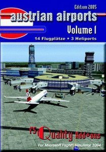 Flight Simulator 2004 - Austrian Airports 1 (Add-on) (niemiecki) (PC)