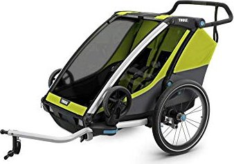 Thule Chariot Cab 2 Bicycle Trailers chartreuse/dark shadow (10204003)