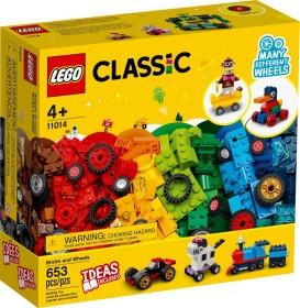 LEGO Classic - Steinebox mit Rädern (11014)