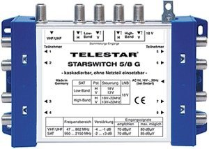 Telestar STARSWITCH 5/8 G (5222520)