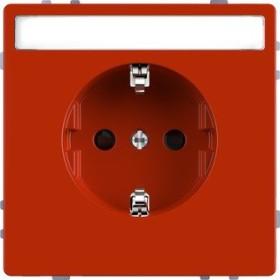 Merten System Design SCHUKO-Steckdose, orange (MEG2302-6002)