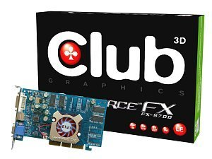 Club 3D GeForceFX 5700LE, 128MB DDR, DVI, TV-out, AGP (CGN-L368TVD)