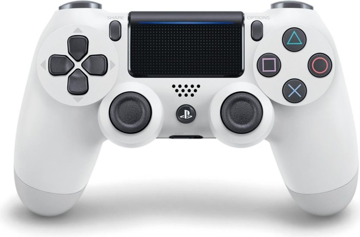 Sony DualShock 4 2.0 Controller wireless, weiß (PS4)