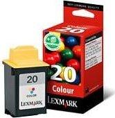 Lexmark Druckkopf mit Tinte 20 dreifarbig (15M0120)