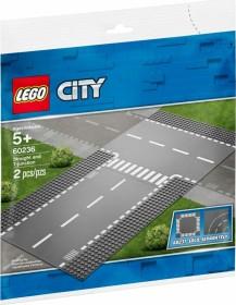 LEGO City - Gerade und T-Kreuzung (60236)