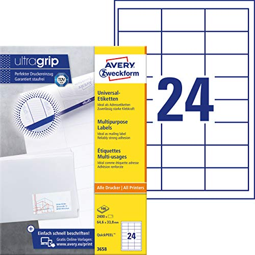Avery-Zweckform universal labels (3658)
