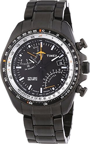 Chrono Back Intelligent Aviator Timex Quartz T2p103 Fly 1lKcFJ