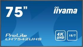 "iiyama ProLite LH7542UHS-B1, 74.5"""
