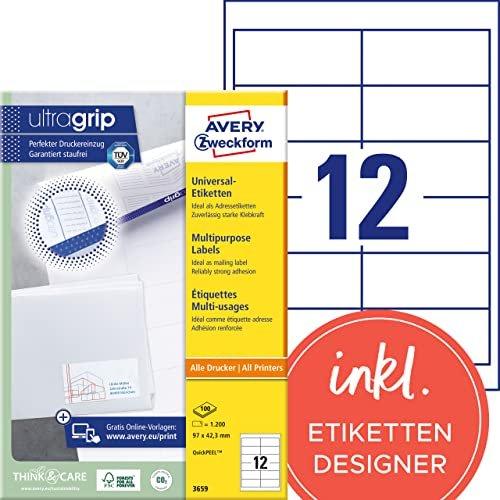 Avery Zweckform Universal Etiketten 3659