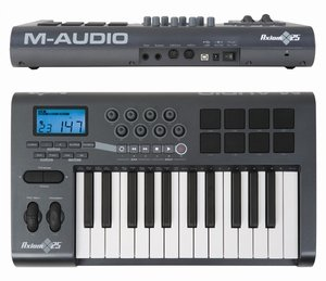M-audio Axiom 25 MIDI controller Keyboard, USB