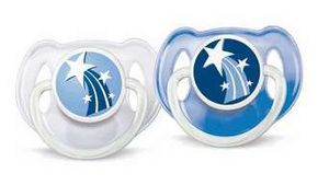 Philips Avent SCF131/17 night soother, 2-pack