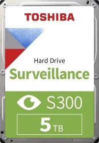 Toshiba S300 Surveillance 5TB, SATA 6Gb/s, bulk (HDWT150UZSVA)