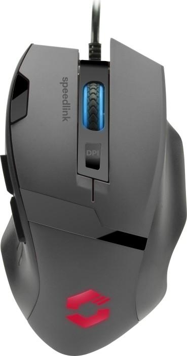 Speedlink Vades Gaming Mouse schwarz, USB (SL-680014-BKBK)