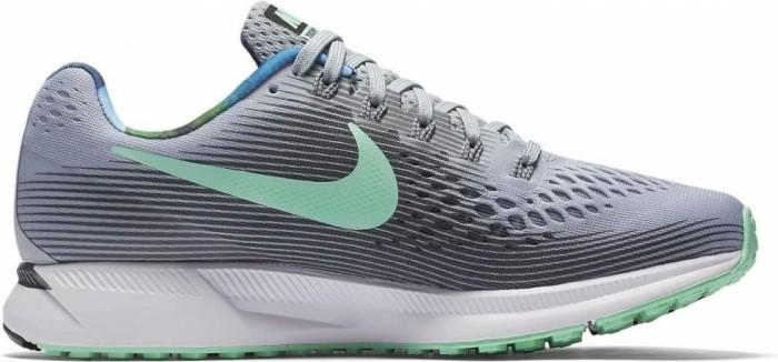 b04b4e212bcd Nike Air zoom Pegasus 34 Solstice wolf grey dark grey white green glow