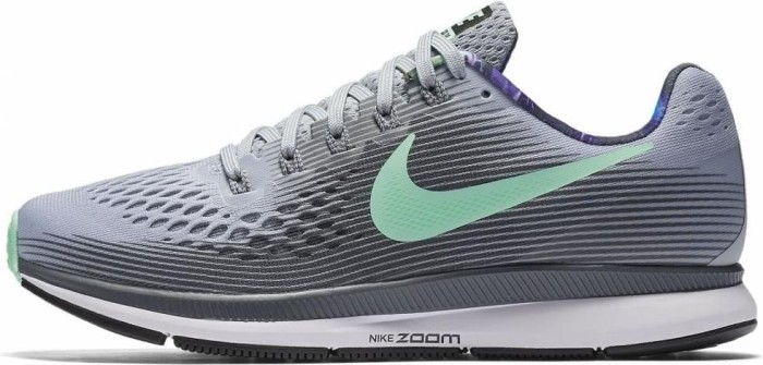af02e7739023 Nike Air zoom Pegasus 34 Solstice wolf grey dark grey white green glow ( ladies) (883270-001) starting from £ 0.00 (2019)