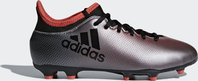 best authentic ac2a5 88c32 adidas X 17.3 FG grey/core black/real coral (Junior) (AH2333) from £ 25.00