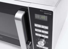 CASO Mikrowelle MI 30 3336 SilberSchwarz online kaufen
