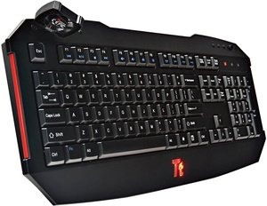 Tt eSPORTS Challenger Gaming Keyboard, USB, UK (KB-CHL002UK)