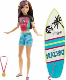 Mattel Barbie Dreamhouse Adventures - Surf Doll in Surfing Fashion with Accessories (GHK36)