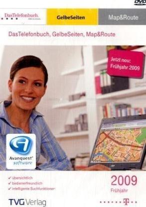 TVG: Das Telefonbuch und Gelbe Seiten Deutschland Map&route, spring 2009 (German) (PC) -- via Amazon Partnerprogramm