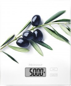 Medisana KS210 olive electronic kitchen scale (40473)