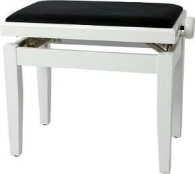 Gewa piano bench Deluxe white high gloss (130030)