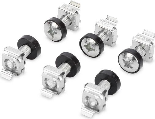 """Digitus Professional mounting kit for 19"""" cabinet silver, 50 pieces (DN-19 SET-S)"""