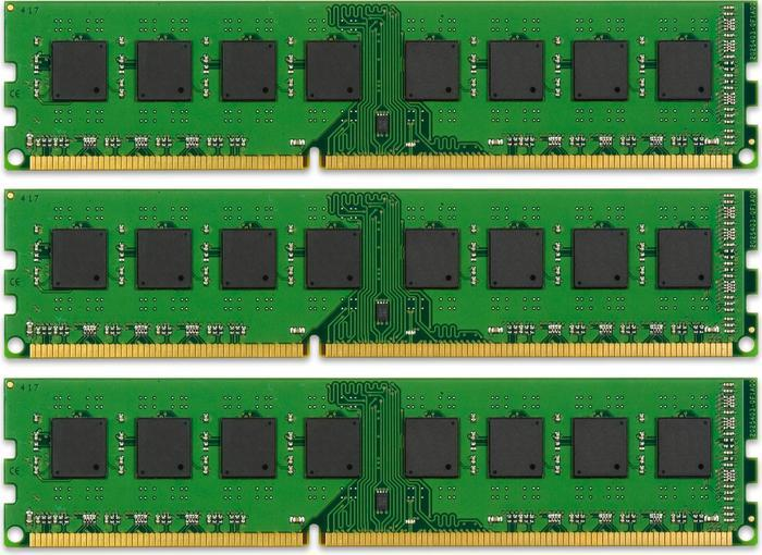 Kingston ValueRAM DIMM Kit 24GB PC3L-10667R reg ECC CL9 (DDR3L-1333) (KVR13LR9D4K3/24)