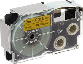 Casio XR-18GD1 Beschriftungsband 18mm, schwarz/gold