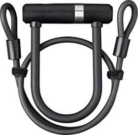 AXA Newton Mini Pro + Kabel Bügelschloss schwarz, Schlüssel (59502995SS)