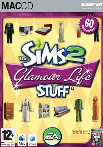 Die Sims 2 - Glamour Accessoires (Add-on) (niemiecki) (MAC) -- via Amazon Partnerprogramm
